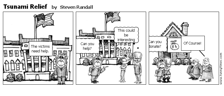 Tsunami Relief by Steven Randall