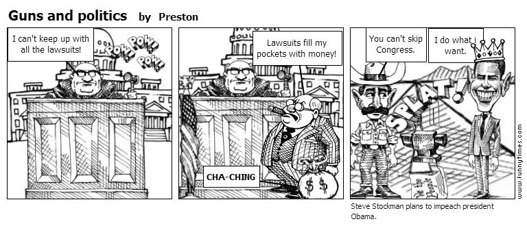 Guns and politics by Preston