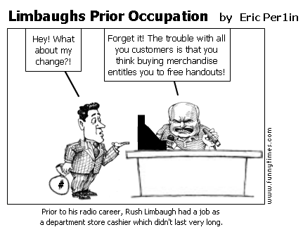Limbaughs Prior Occupation by Eric Per1in