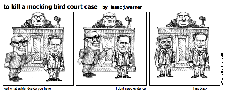 to kill a mocking bird court case by isaac j.werner