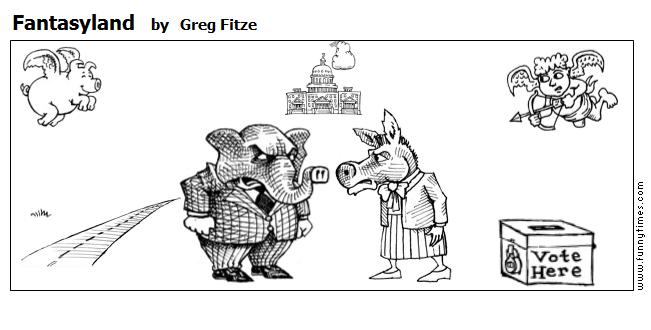 Fantasyland by Greg Fitze