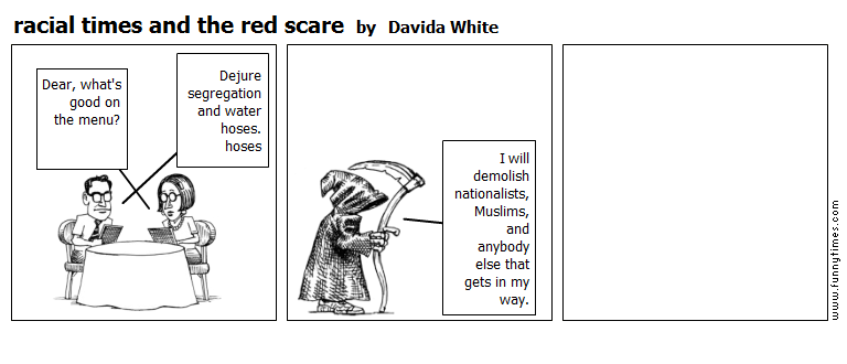 racial times and the red scare by Davida White
