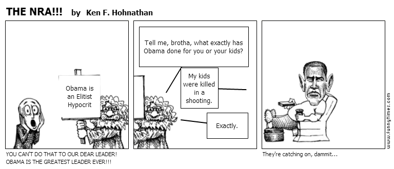 THE NRA by Ken F. Hohnathan