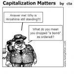Capitalization Matters