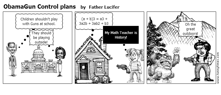 ObamaGun Control plans by Father Lucifer