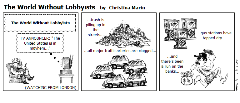 The World Without Lobbyists by Christina Marin