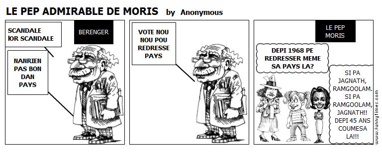 LE PEP ADMIRABLE DE MORIS by Anonymous