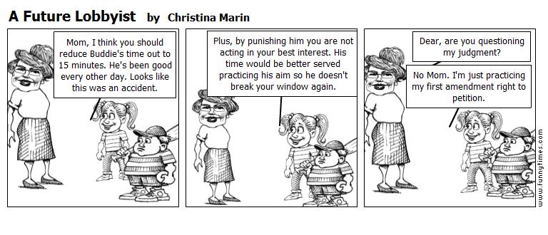 A Future Lobbyist by Christina Marin