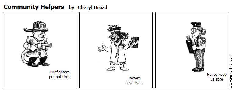 Community Helpers by Cheryl Drozd
