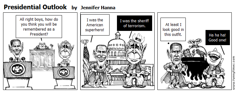 Presidential Outlook by Jennifer Hanna