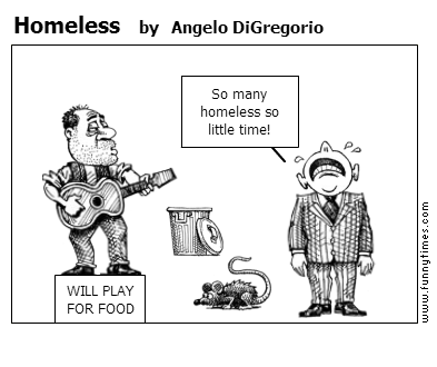 Homeless by Angelo DiGregorio