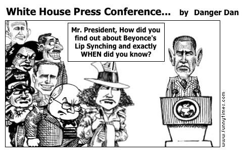 White House Press Conference... by Danger Dan