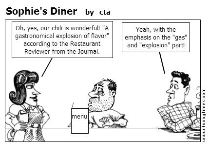 Sophie's Diner by cta