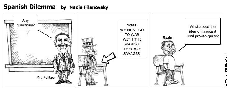 Spanish Dilemma by Nadia Filanovsky
