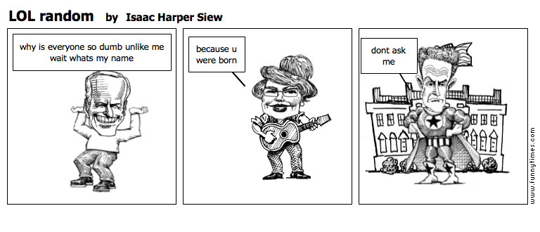 LOL random by Isaac Harper Siew