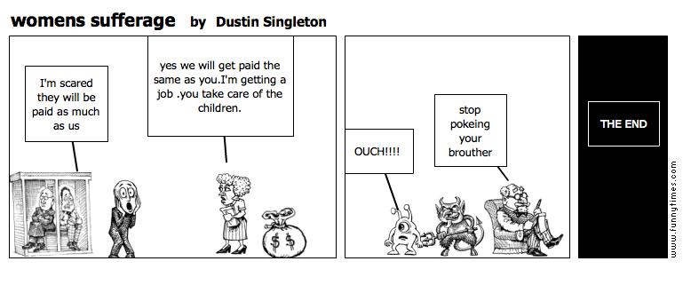 womens sufferage by Dustin Singleton