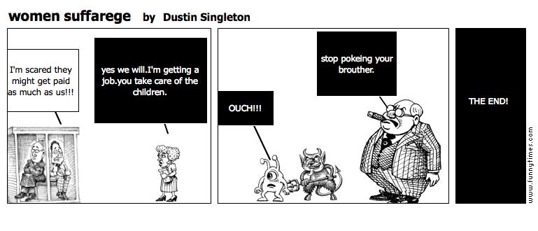 women suffarege by Dustin Singleton