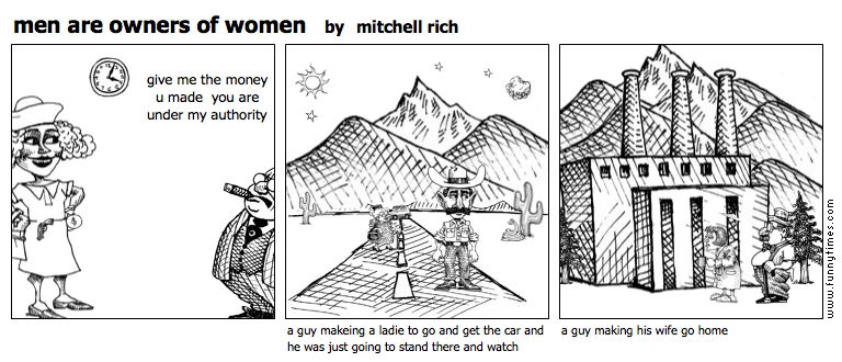 men are owners of women by mitchell rich