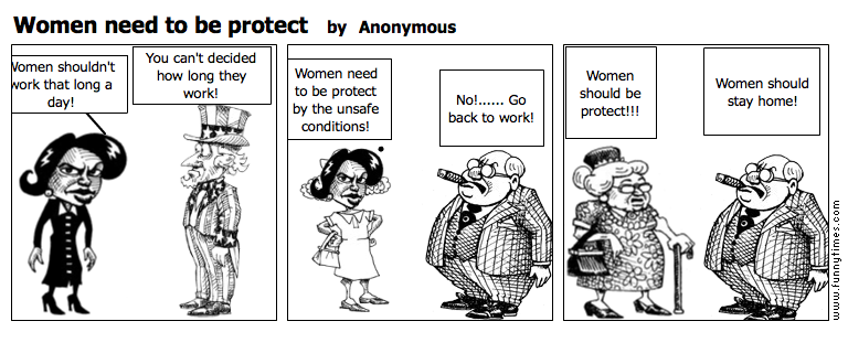 Women need to be protect by Anonymous