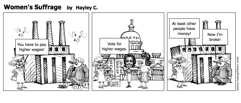 Women's Suffrage by Hayley C.