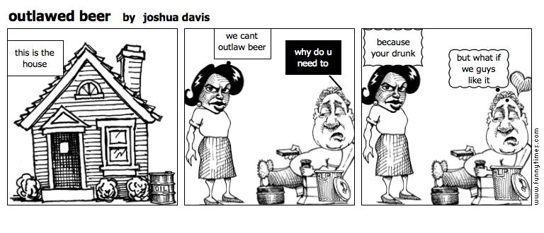 outlawed beer by joshua davis