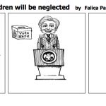 if women vote children will be neglected