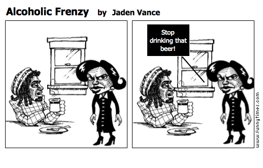 Alcoholic Frenzy by Jaden Vance