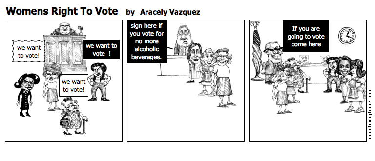 Womens Right To Vote by Aracely Vazquez
