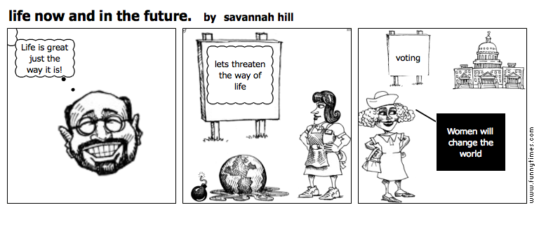 life now and in the future. by savannah hill