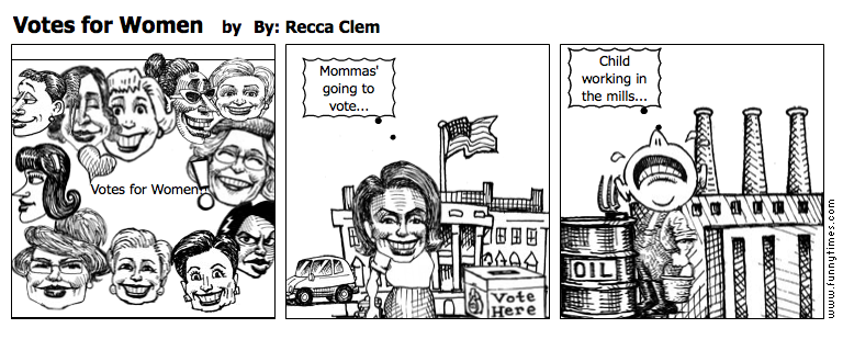 Votes for Women by By Recca Clem