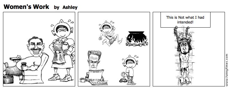 Women's Work by Ashley