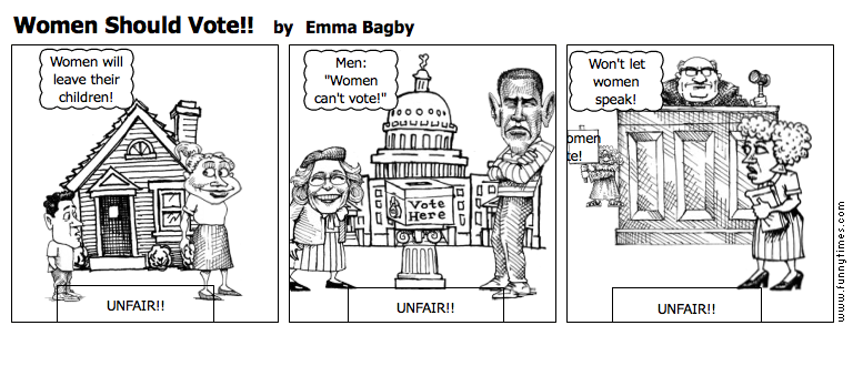 Women Should Vote by Emma Bagby