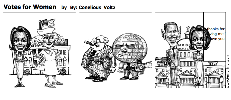 Votes for Women by By Conelious  Voltz