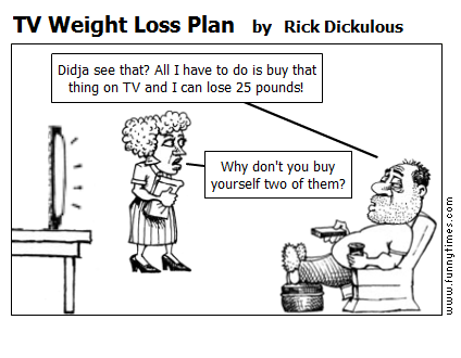 TV Weight Loss Plan by Rick Dickulous