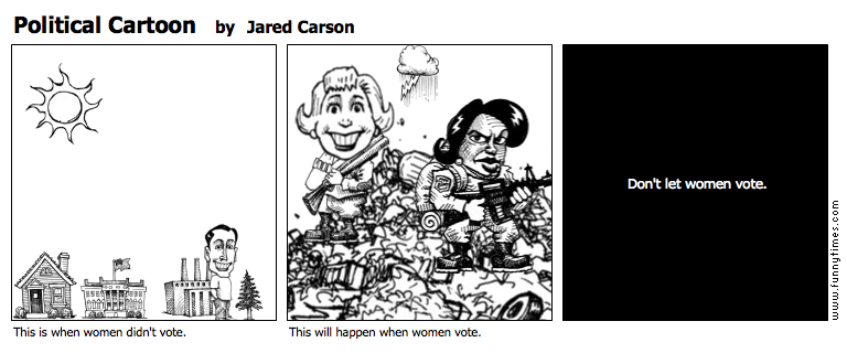 Political Cartoon by Jared Carson