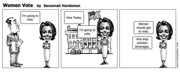 Women Vote by Savannah Hardeman