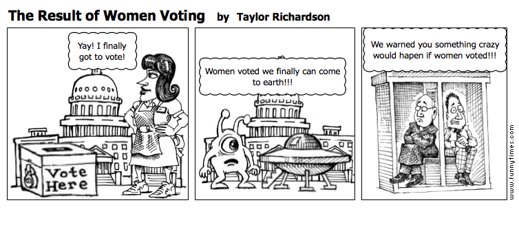 The Result of Women Voting by Taylor Richardson
