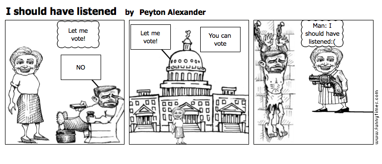 I should have listened by Peyton Alexander