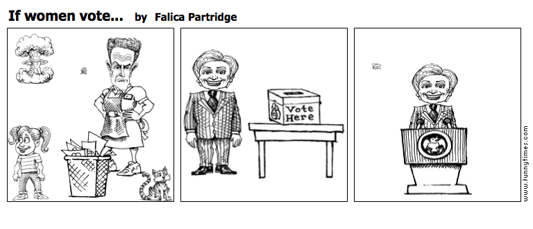 If women vote... by Falica Partridge