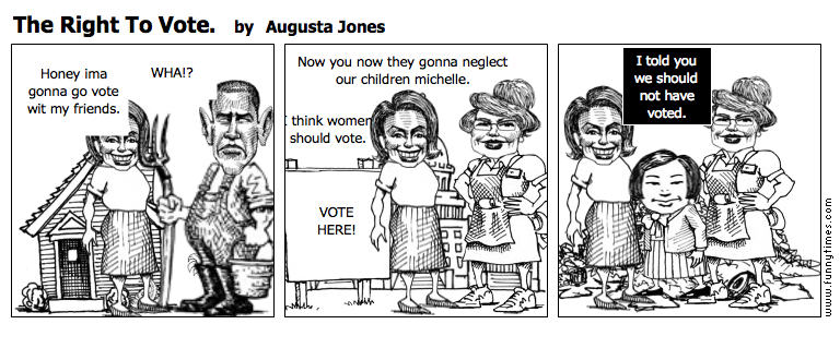 The Right To Vote. by Augusta Jones