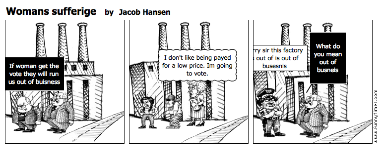 Womans sufferige by Jacob Hansen