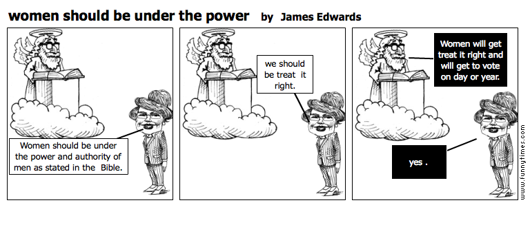 women should be under the power by James Edwards