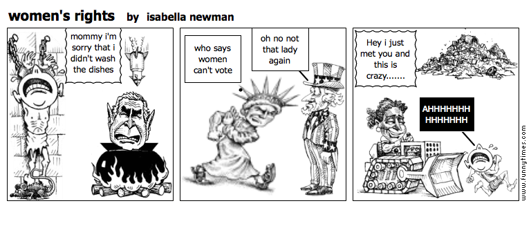 women's rights by isabella newman