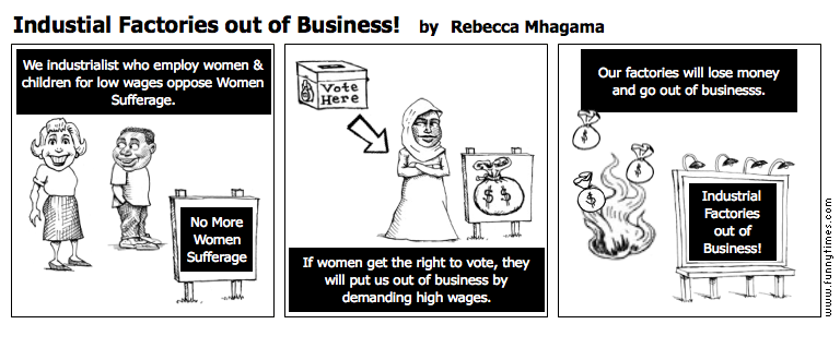 Industial Factories out of Business by Rebecca Mhagama