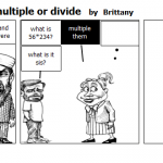 Funny people cant multiple or divide