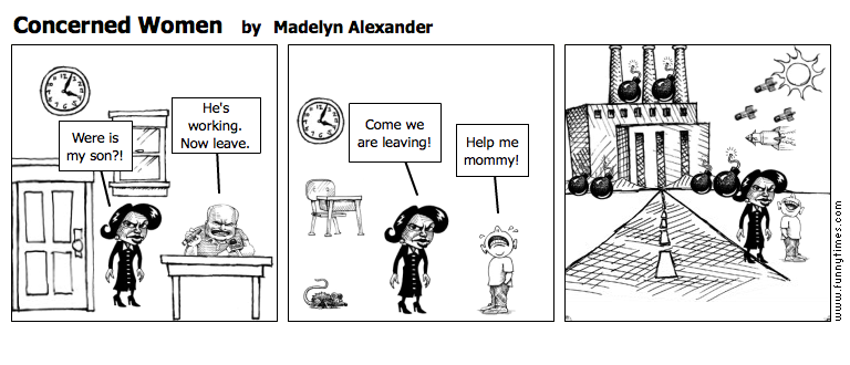 Concerned Women by Madelyn Alexander
