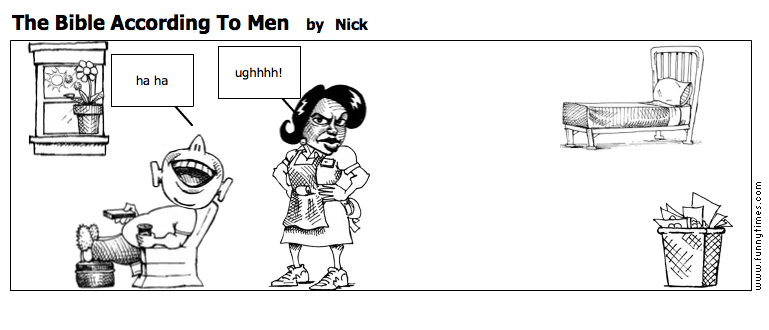 The Bible According To Men by Nick