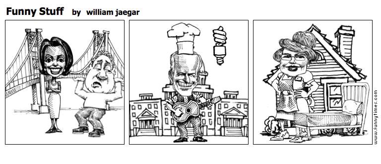 Funny Stuff by william jaegar