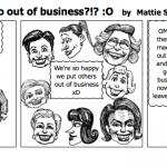 women make men go out of business O
