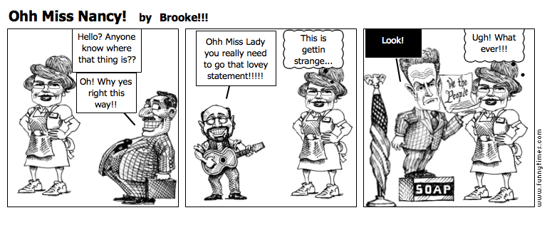 Ohh Miss Nancy by Brooke